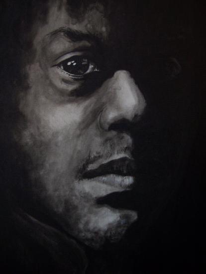 Jimi Hendrix by geerke74